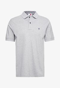 Tommy Hilfiger - LEWIS HAMILTON GOTHIC BADGE REGULAR POLO - Polo - grey
