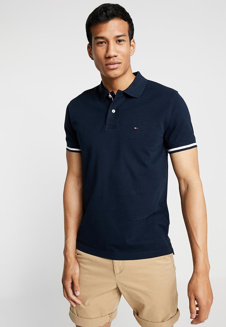Tommy Hilfiger - CONTRAST TIPPED REGULAR - Polo shirt - blue