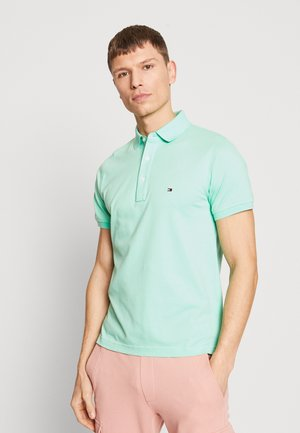 SLIM FIT - Koszulka polo - green
