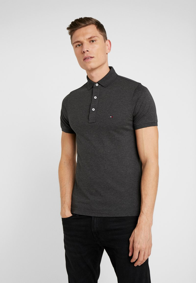 Tommy Hilfiger - SLIM FIT - Polo - grey