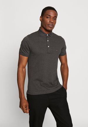 SLIM FIT - Polo shirt - grey