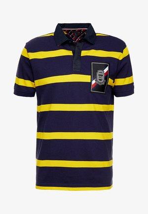 Polo - dark blue/yellow