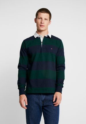 ICONIC BLOCK STRIPE RUGBY - Jumper - blue
