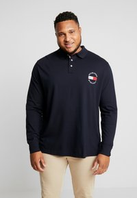 Tommy Hilfiger - BASIC BADGE REGULAR - Polo - blue - 0