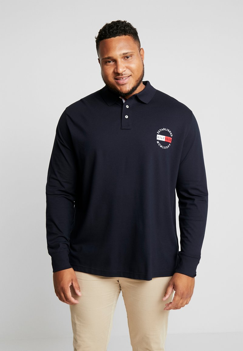 Tommy Hilfiger - BASIC BADGE REGULAR - Polo - blue