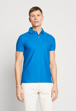 HILFIGER SLIM POLO - Polo shirt - blue