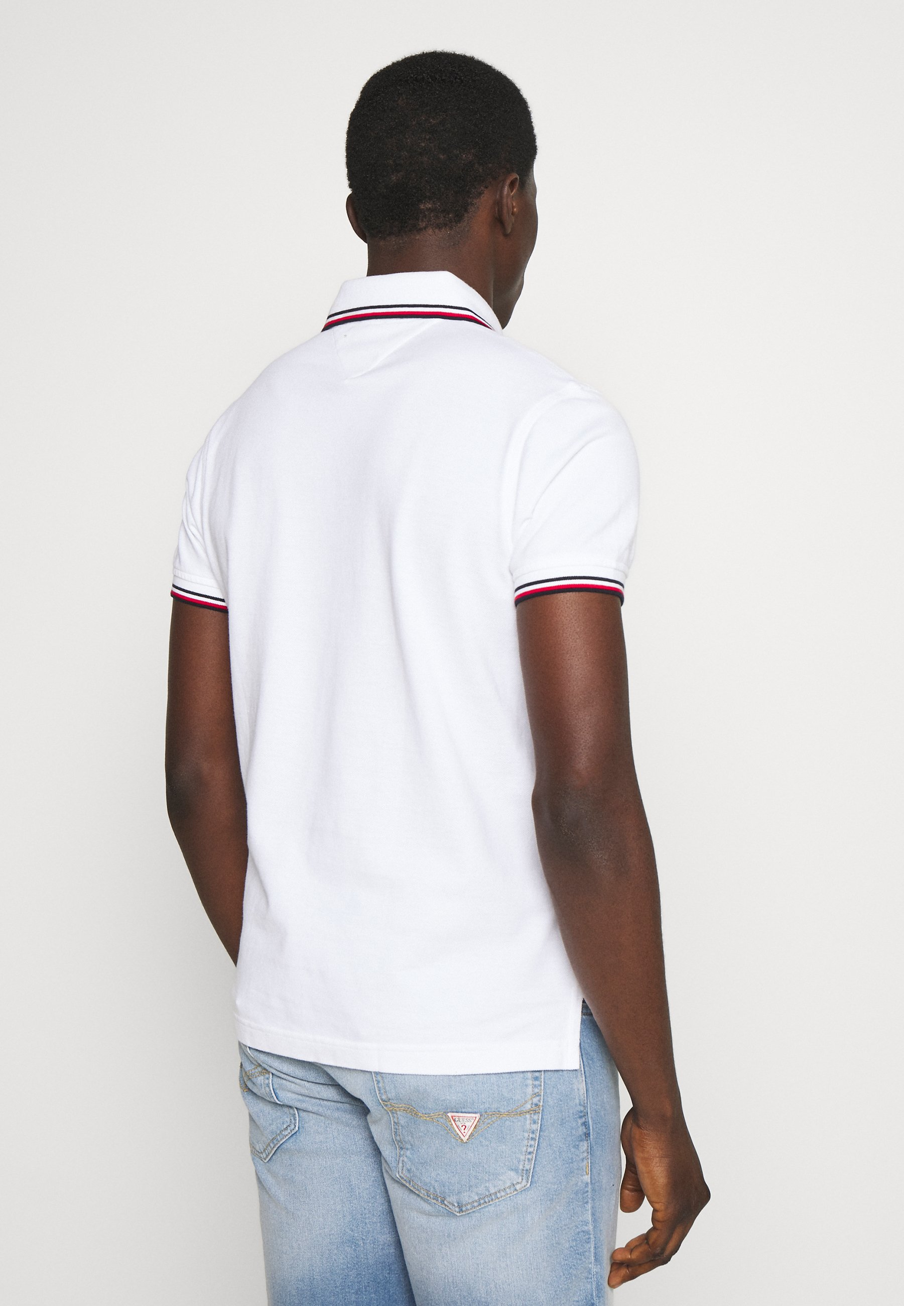 Tommy Hilfiger Tipped Slim Fit - Piké White
