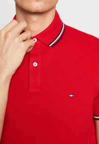Tommy Hilfiger - TIPPED SLIM FIT - Polo - red - 4