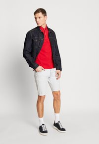 Tommy Hilfiger - TIPPED SLIM FIT - Polo - red - 1