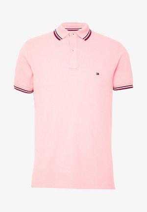 TIPPED SLIM FIT - Polotričko - pink