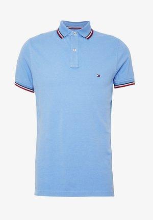 TIPPED SLIM FIT - Koszulka polo - blue
