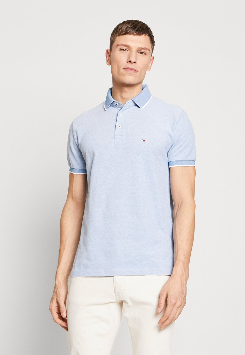 Tommy Hilfiger - COOL OXFORD REGULAR - Polo - blue