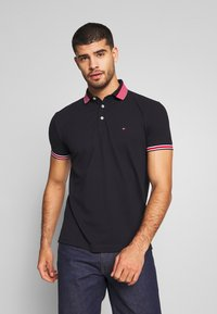 Tommy Hilfiger - CONTRAST TIPPED COLLAR - Polo shirt - blue - 0