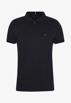 ZIP INTERLOCK SLIM - Polo shirt - blue