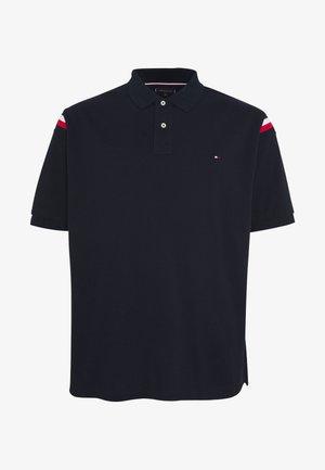 SHOULDER INSERT - Polo shirt - blue