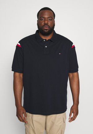SHOULDER INSERT - Polo shirt - blue