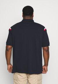 Tommy Hilfiger - SHOULDER INSERT - Polo shirt - blue - 2