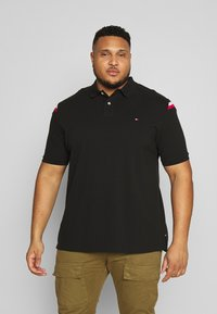 Tommy Hilfiger - SHOULDER INSERT - Poloshirt - black - 0