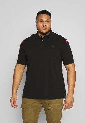 SHOULDER INSERT - Koszulka polo - black