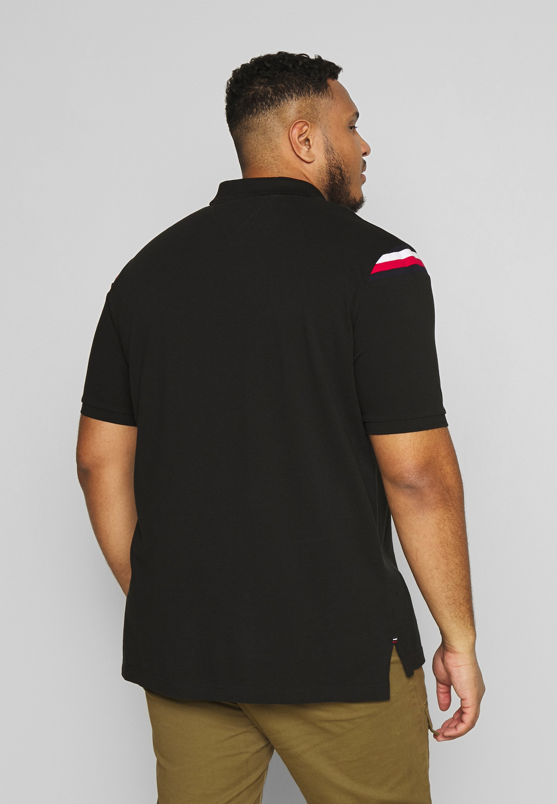 Tommy Hilfiger Shoulder Insert - Polo Shirt Black