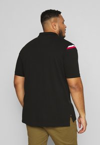 Tommy Hilfiger - SHOULDER INSERT - Poloshirt - black - 2