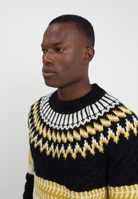 Tommy Hilfiger - FAIR ISLE MIXED RELAXED FIT C-NECK - Neule - blue - 3