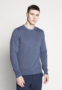 Tommy Hilfiger - CREW NECK - Jumper - blue - 0