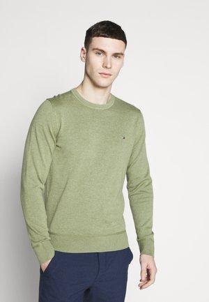 CREW NECK - Stickad tröja - green