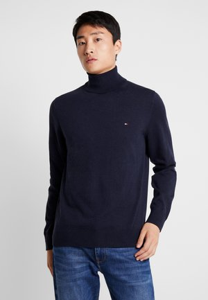 ROLL NECK - Pullover - blue
