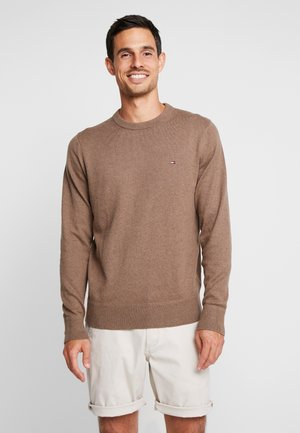 PIMA CREW NECK - Neule - brown