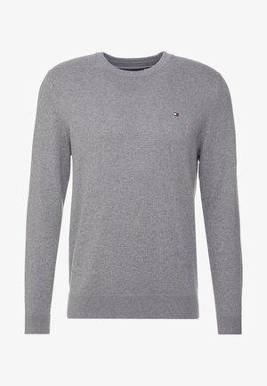 PIMA CREW NECK - Pullover - grey
