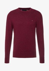 Tommy Hilfiger - PIMA CREW NECK - Stickad tröja - red - 3