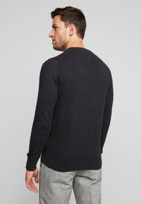 Tommy Hilfiger - PIMA CREW NECK - Jumper - black - 2