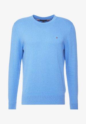 PIMA CREW NECK - Pullover - blue