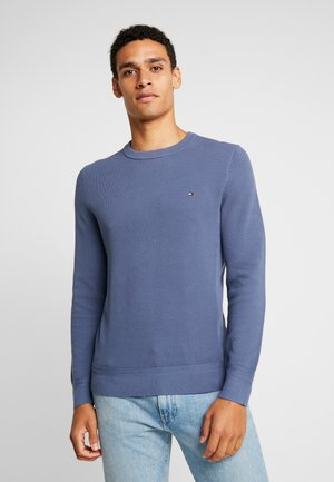 Strikkegenser - blue