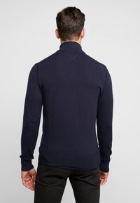 Tommy Hilfiger - PIMA ZIP THROUGH - Cardigan - blue - 2