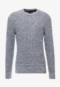 Tommy Hilfiger - PRETWISTED DETAILED - Trui - blue - 4