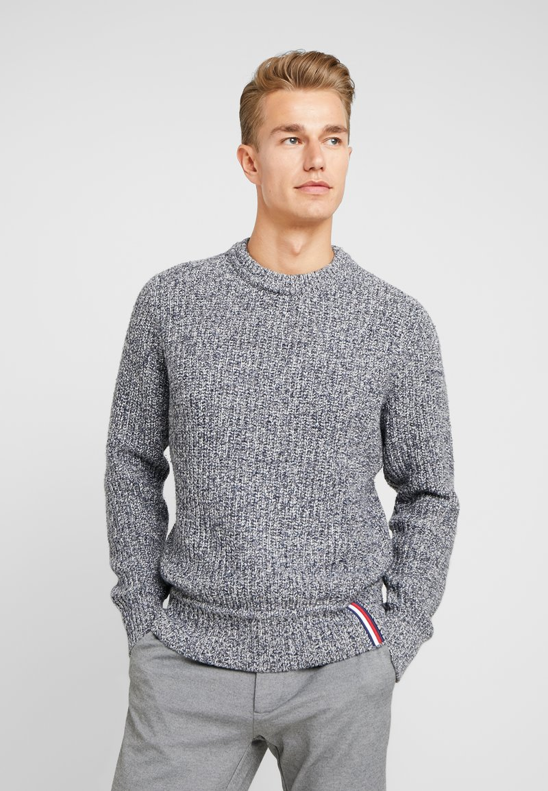 Tommy Hilfiger - PRETWISTED DETAILED - Trui - blue