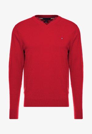 BLEND VNECK - Maglione - hauted red