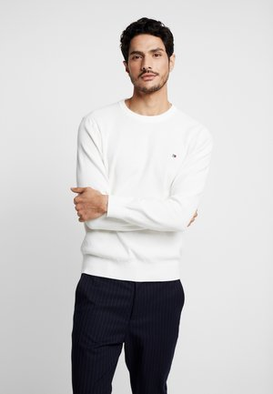 CREW NECK - Jumper - white