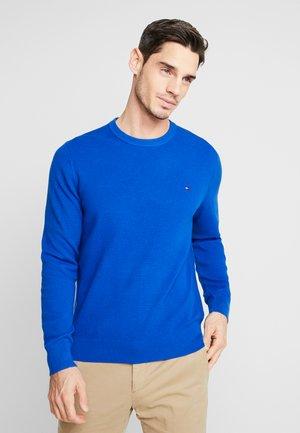 CREW NECK - Stickad tröja - blue