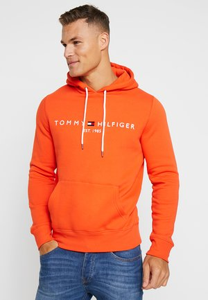 LOGO HOODY - Sweat à capuche - orange