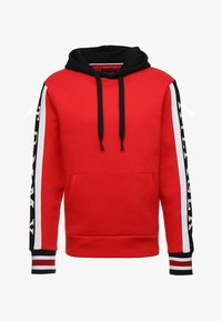 Tommy Hilfiger - RELAXED SLEEVE BRANDED HOODY - Hoodie - red - 4