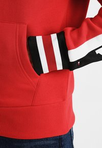 Tommy Hilfiger - RELAXED SLEEVE BRANDED HOODY - Hoodie - red - 5