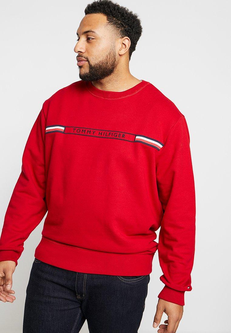 Tommy Hilfiger - LOGO - Sweatshirt - red