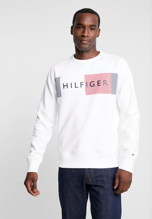 LOGO  - Sweatshirt - white