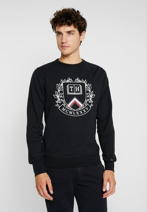 CREST ARTWORK - Sweater - black