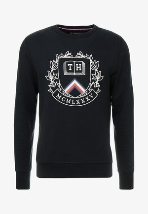 CREST ARTWORK - Sweatshirt - black