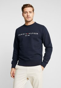 Tommy Hilfiger - LOGO  - Collegepaita - blue - 0