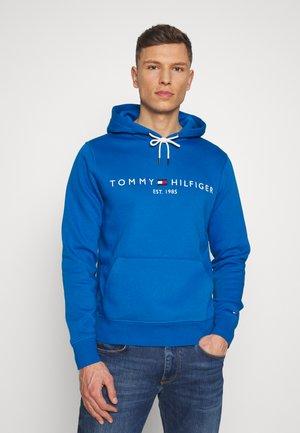 LOGO HOODY - Bluza z kapturem - blue